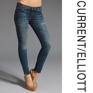 Current/Elliot in Ankle Skinny Brighton Wash